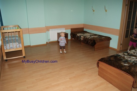 Mom and Baby Room in the Barnaul Airport (Siberia, Russia)