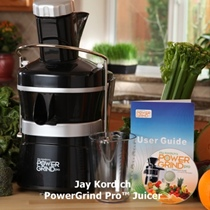 Upcoming giveaway: Jay Kordich Juicer