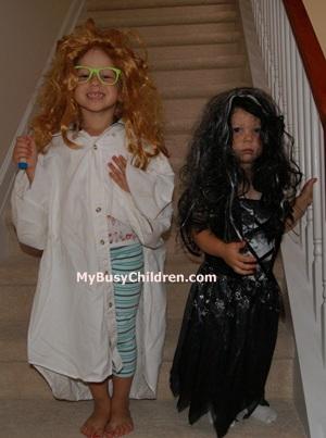 kids in wigs