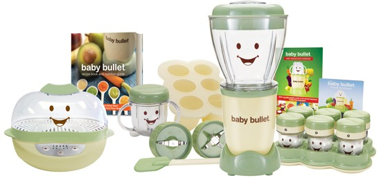 Baby Bullet Baby Food Making System And Turbo Steamer Give